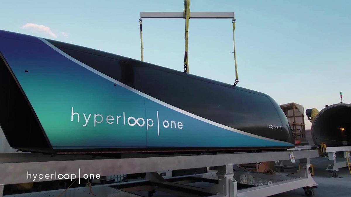 Le Virgin Hyperloop One atteint un nouveau record de vitesse sur sa piste d\'essai