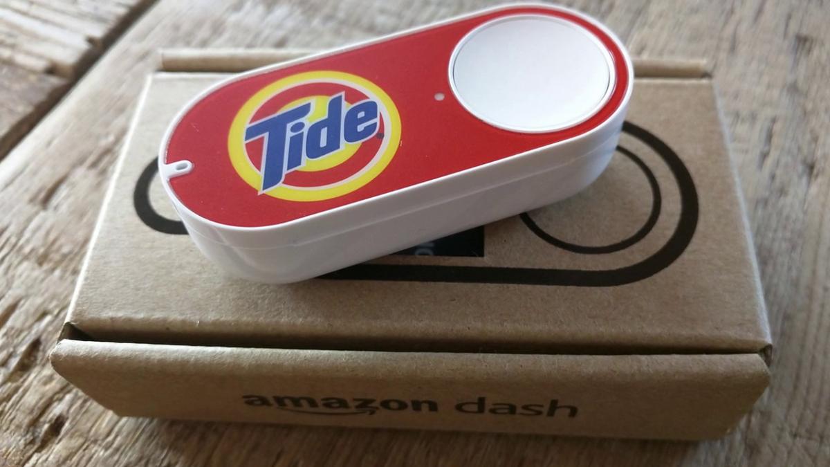 Les nouveaux Dash Buttons d\'Amazon