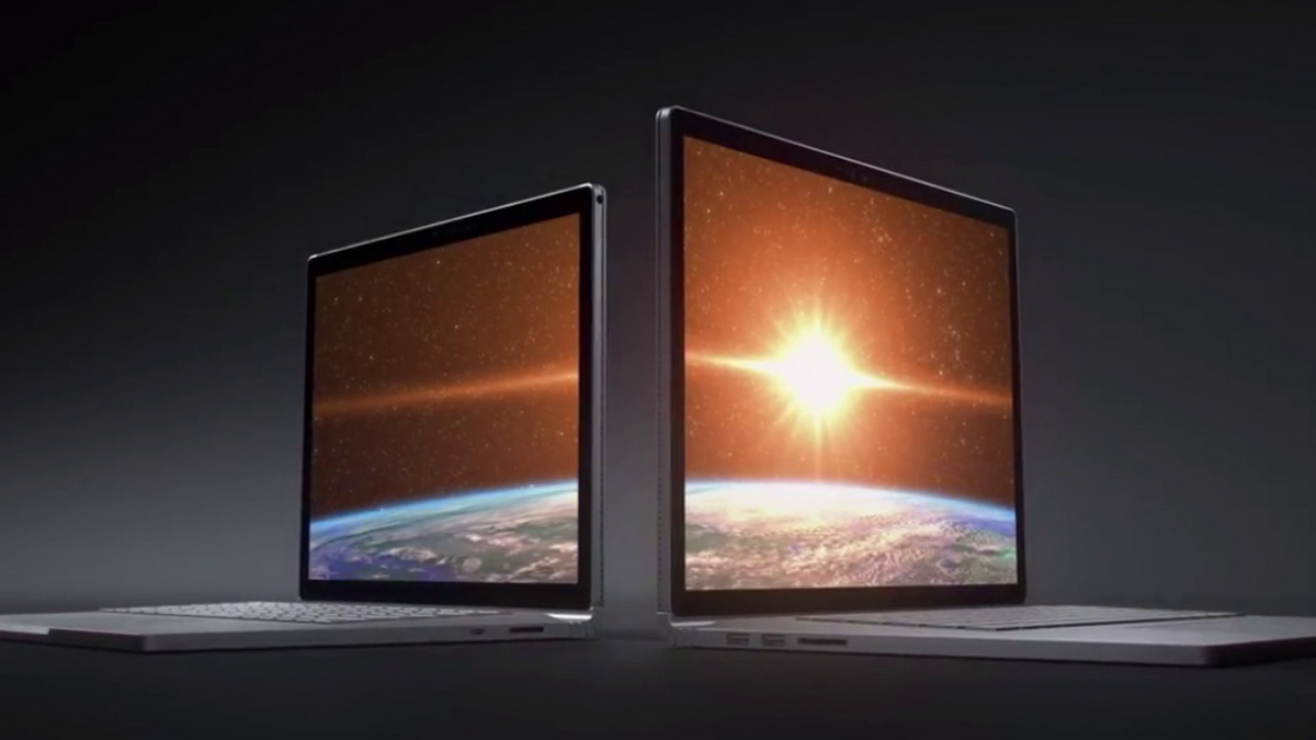 Présentation de la Surface Book 2