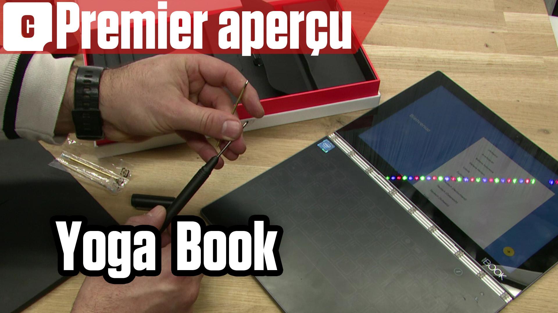 Yoga Book en vidéo : ordinateur, tablette et bloc-note papier à la fois