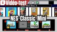 Vidéo Test de la NES Classic Mini : interface et fonctionnalités