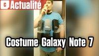 Vidéo Bombe humaine Galaxy Note 7 : une idée costume originale pour Halloween