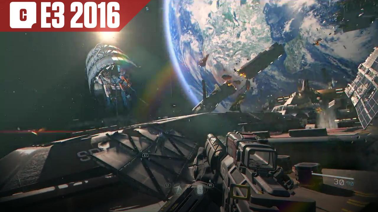 E3 2016 : Assaut sur un vaisseau ennemi dans Call of Duty : Infinite Warfare