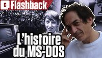 Vidéo MS DOS : comment Microsoft a conçu son premier OS