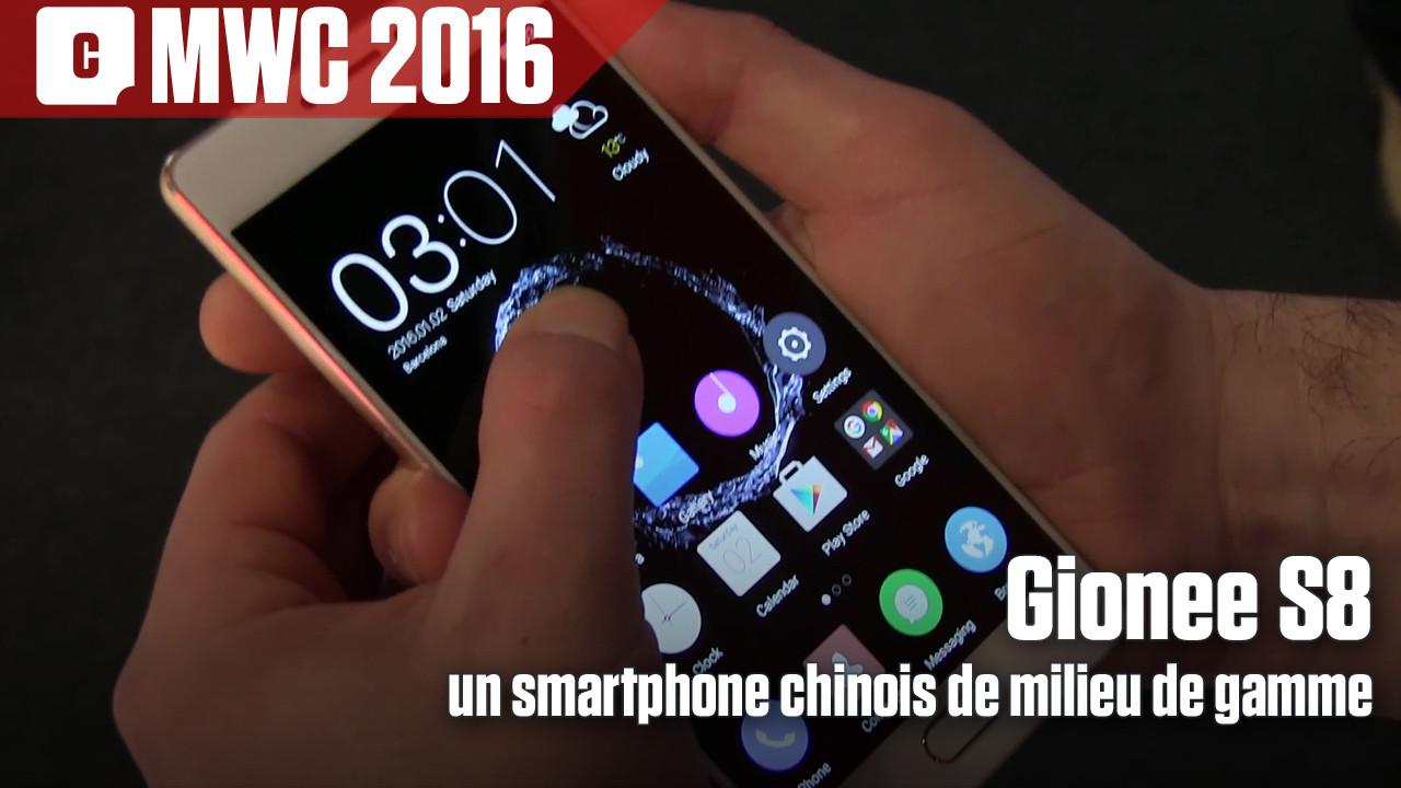 S8 : Gionee rajoute du 3D Touch sur Android... pour devancer Samsung ?