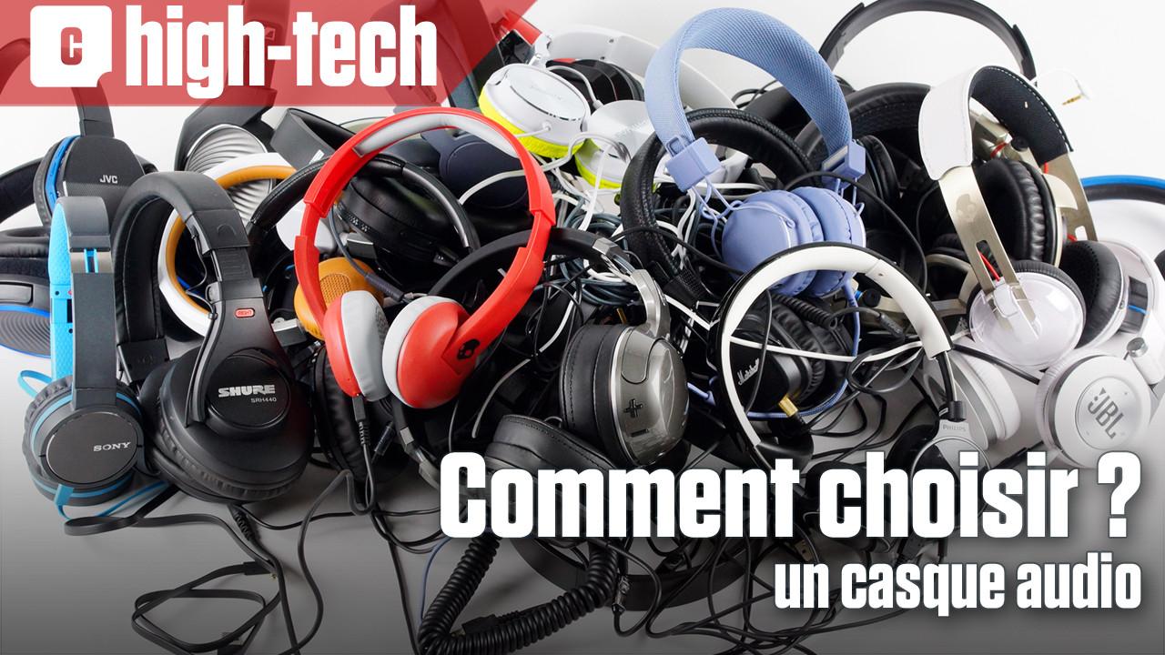 Comment choisir un casque audio ? Les conseils de notre spécialiste !