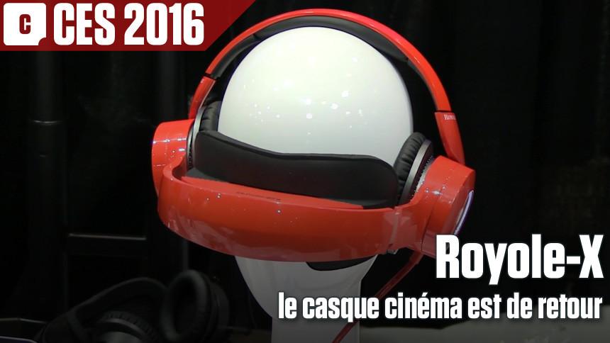 Royole-X, le casque cinéma n'a pas dit son dernier mot