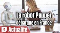 Vidéo Le robot Pepper d'Aldebaran débarque en France