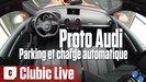 Vidéo l'Audi qui se gare et se recharge toute seule (Francfort 2015)