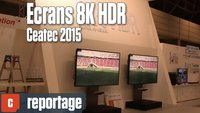 Vidéo Au Ceatec, les écrans 8K se déclinent de 10 à 85 pouces