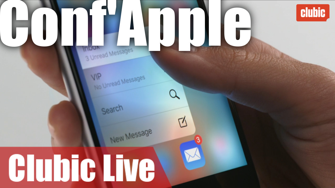 iPhone 6s, iPad Pro, nouvelle Apple TV, Apple Watch... 2 heures de conf' en 4 minutes chrono !