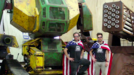 Vidéo USA Challenges Japan To Giant Robot Duel