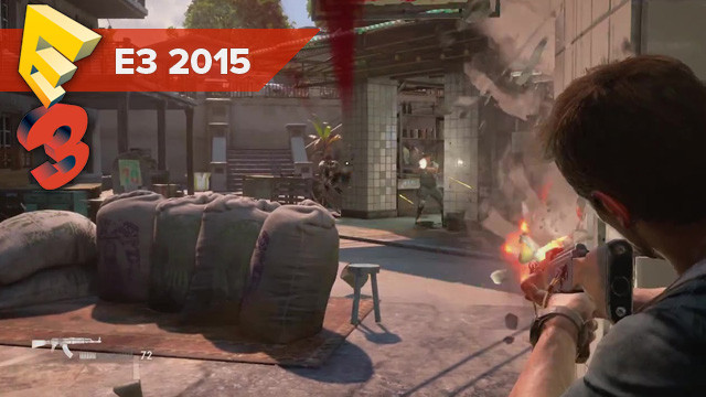 Uncharted 4 : A Thief's End - Gameplay (E3 2015)