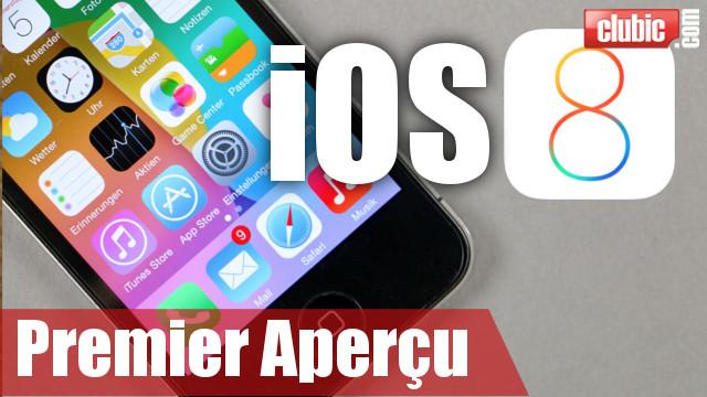 iOS 8 en vidéo : le tour des nouveautés en 2'30