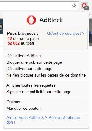adblock firefox clubic