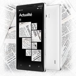 L'actualité à portée de main sur Windows Phone