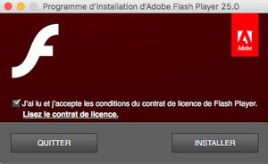 flash player gratuit pour mac os x 10.5.8