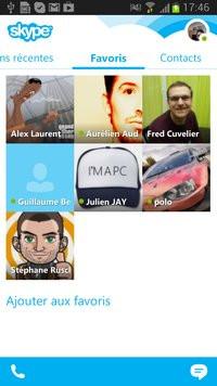 skype gratuit sur tablette logicom