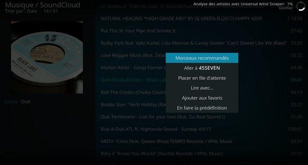 Télécharger SoundCloud (Extension pour Kodi) pour Windows