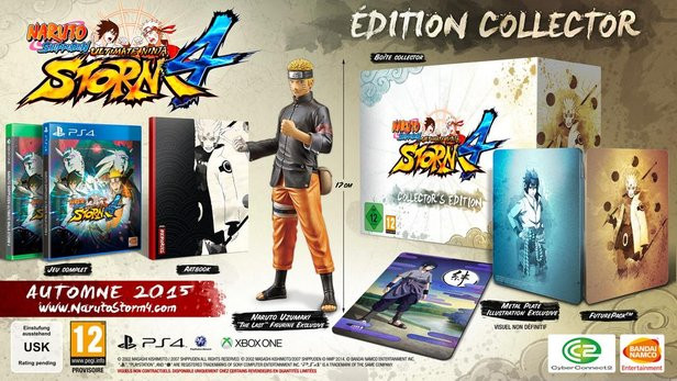 Naruto Shippuden Ultimate Ninja Storm 4 - Edition Collector