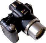 Comparo bridge - Kodak P850 - visuel