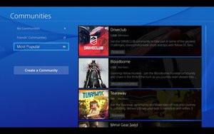 PlayStation 4 - Communautés