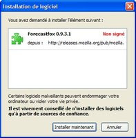 Firefox 2.0 : installer une extension