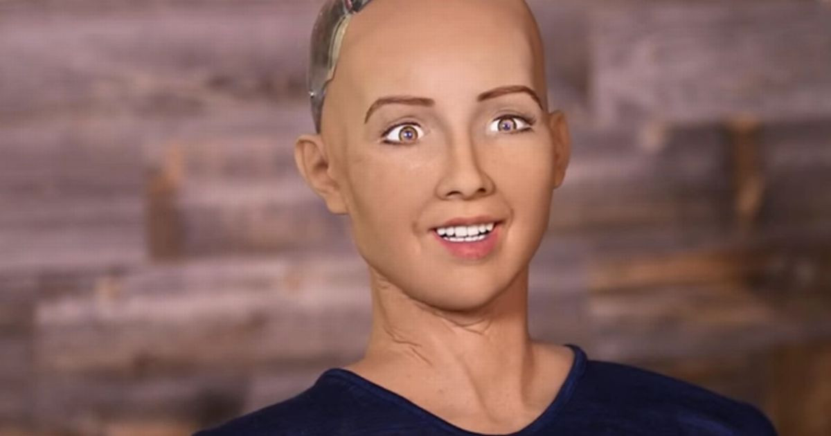 Sophia robot androide