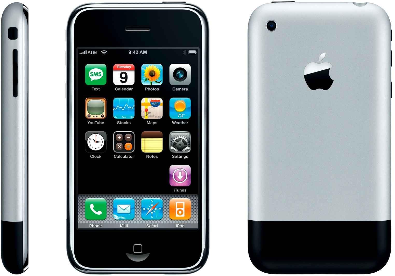 Les 10 ans de l'iPhone en images