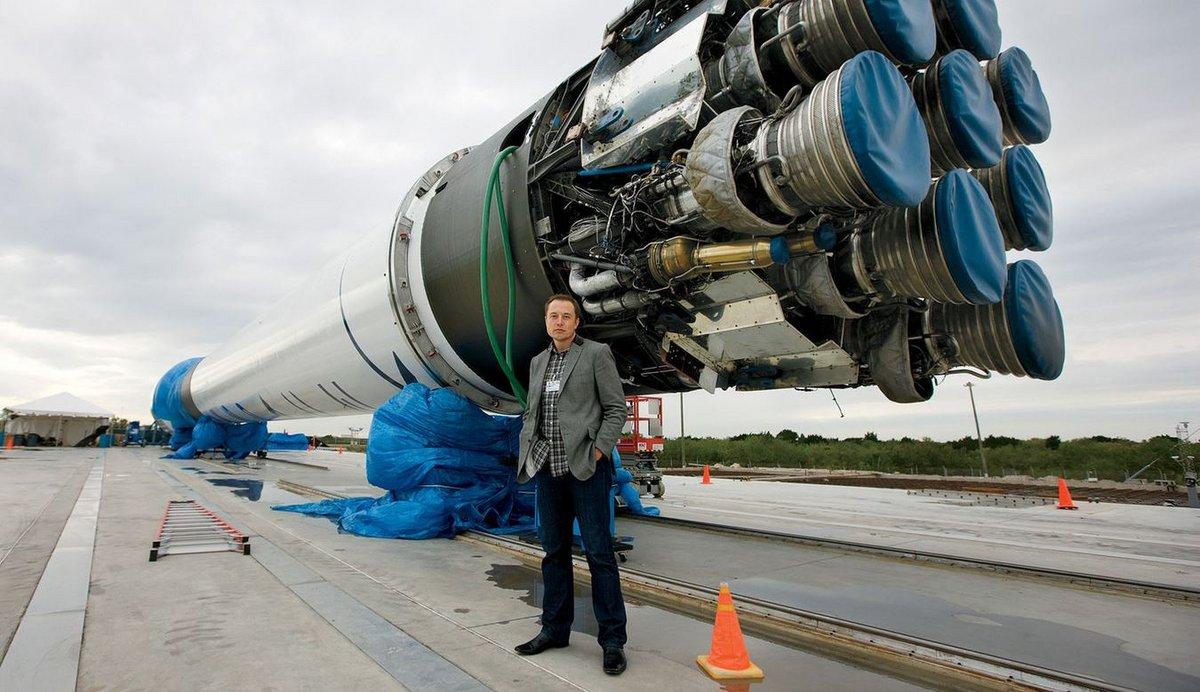 Elon Musk Falcon 9