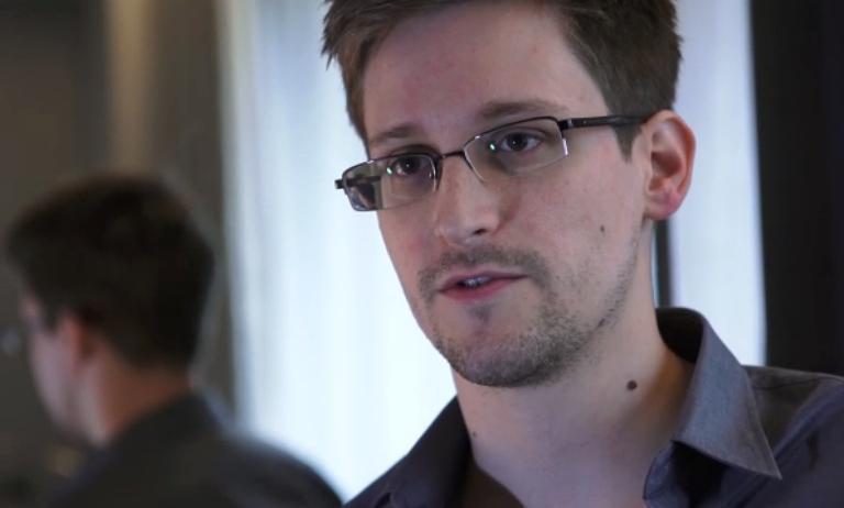Edward Snowden le 6 juin 2013