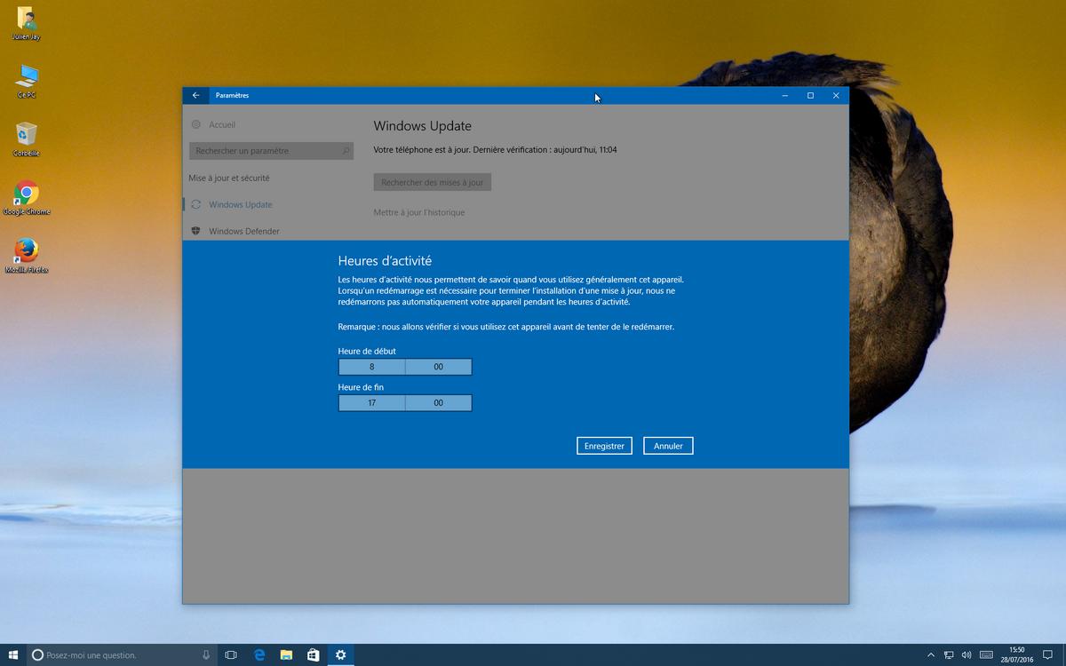 Windows 10 Anniversary Update - Windows Update