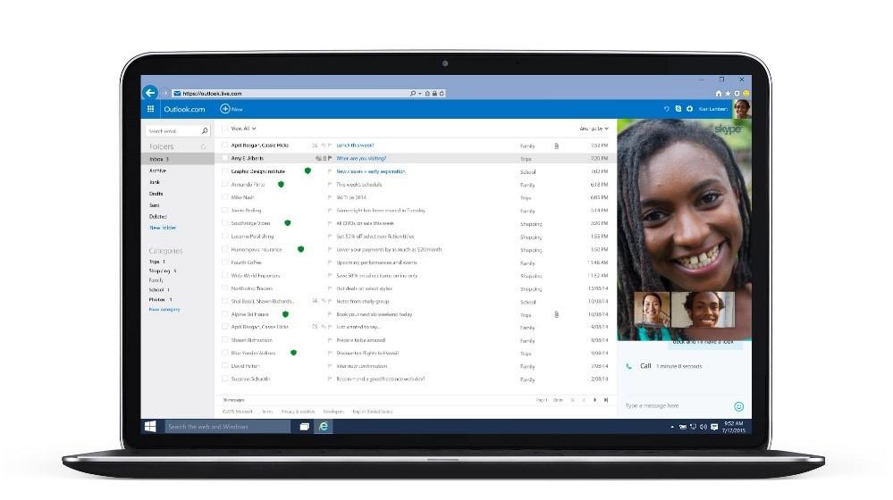 Skype + Outlook.com