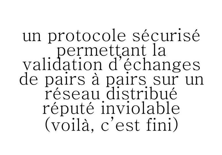 La Blockchain expliquée par Monsieur Madame