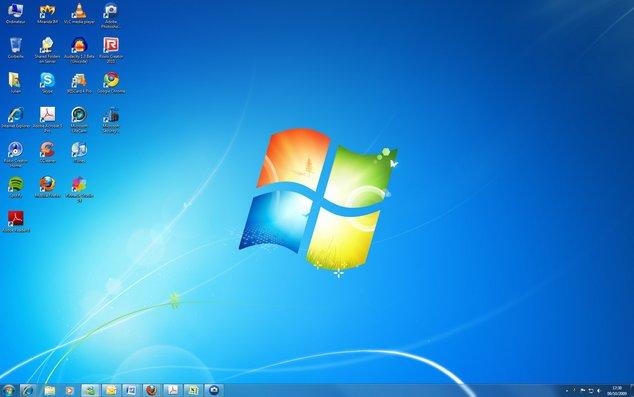 Microsoft Windows 7 RTM - Bureau - 4