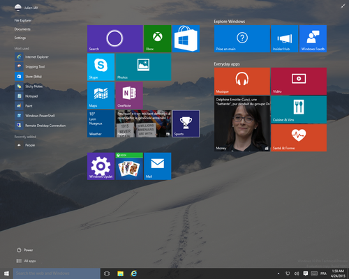 windows 10 build 10061 - 4