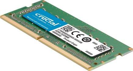 for Mac SO-DIMM 16 Go DDR4 PC19200 (CT16G4S24AM)PC19200 - 2400 MHz DDR4 16 Go 17 SoDIMM 16 Go 1,2 V 10 an(s) SO-DIMM Mémoire PC pour Mac For Mac SO-DIMM