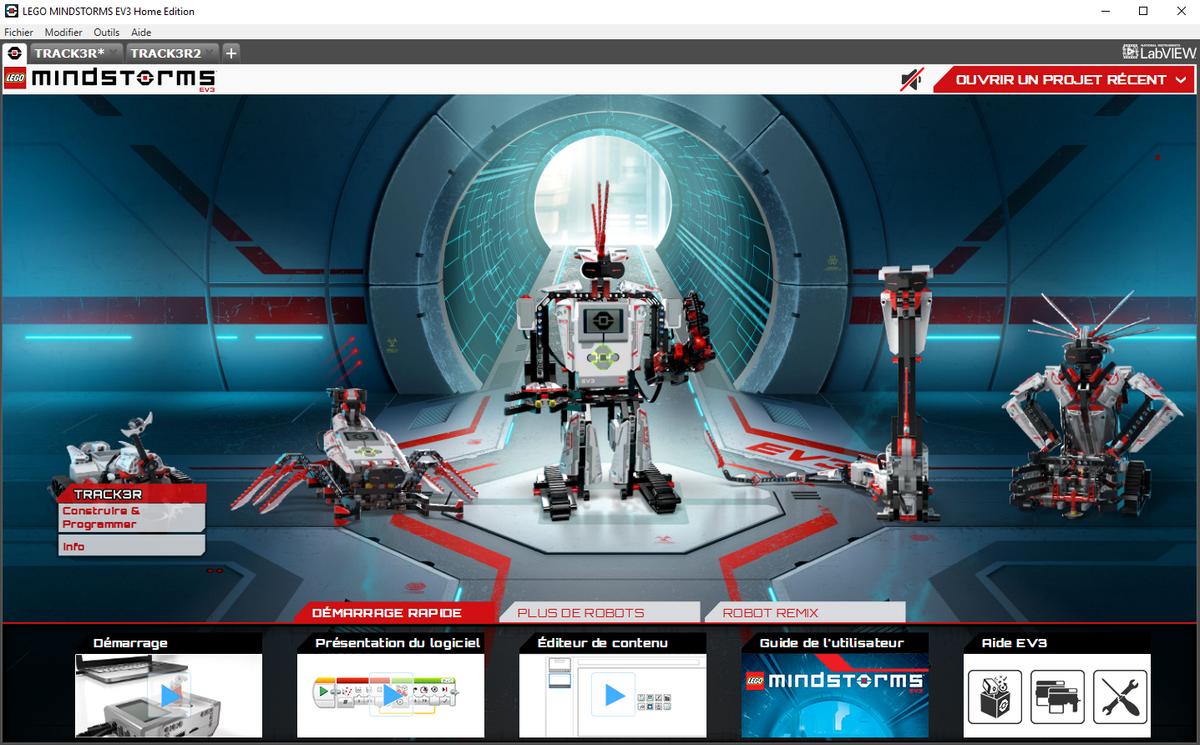 LEGO Mindstorms EV3-F