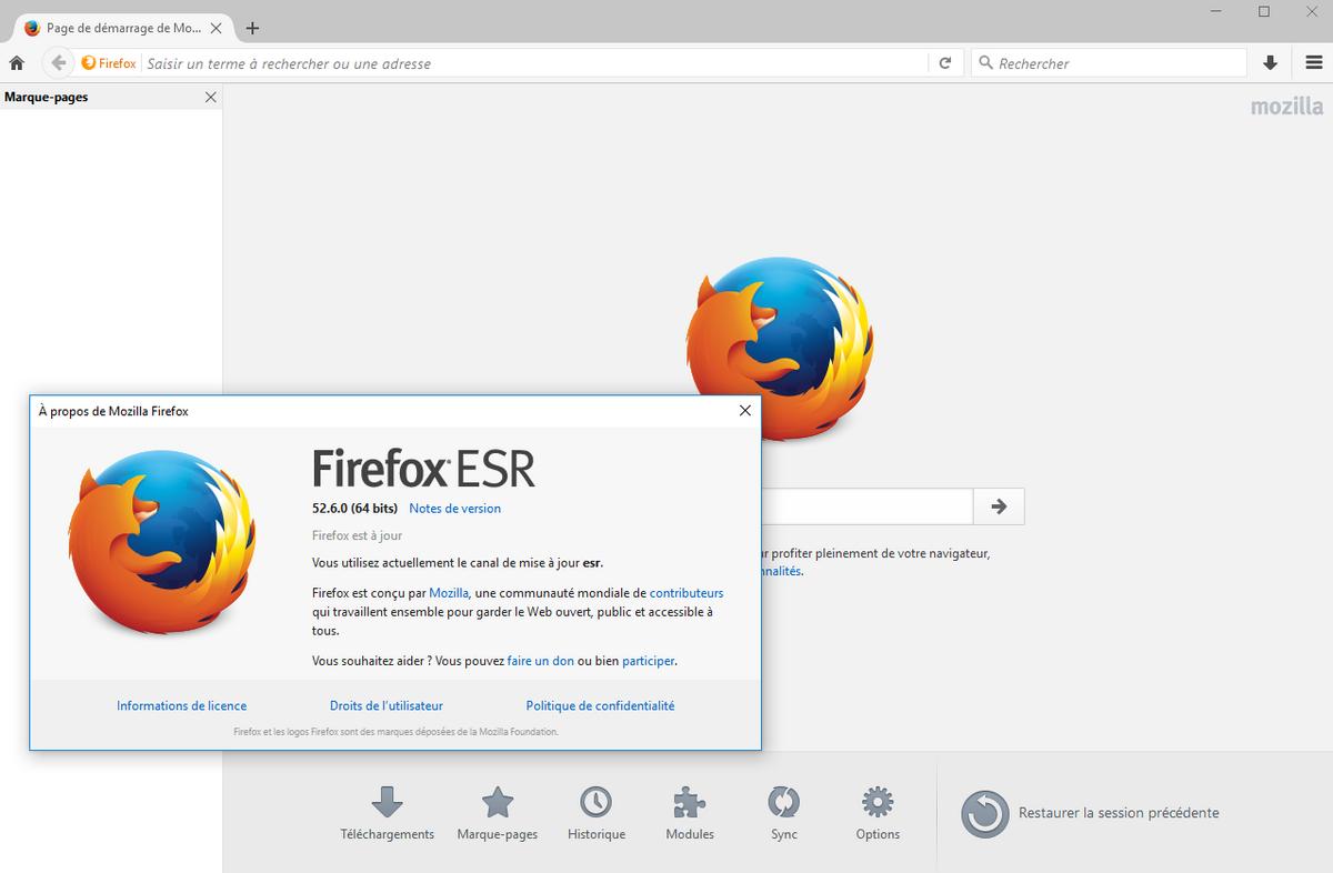 Mozilla Firefox ESR-F