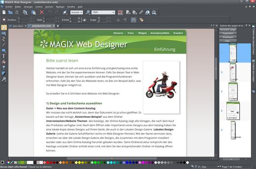 magix web designer-f