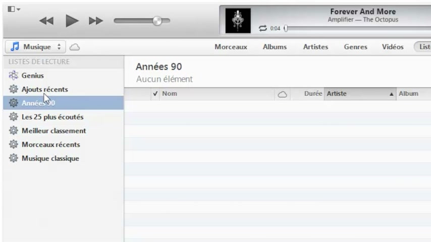 vid o tuto comment graver un cd audio avec itunes 11. Black Bedroom Furniture Sets. Home Design Ideas