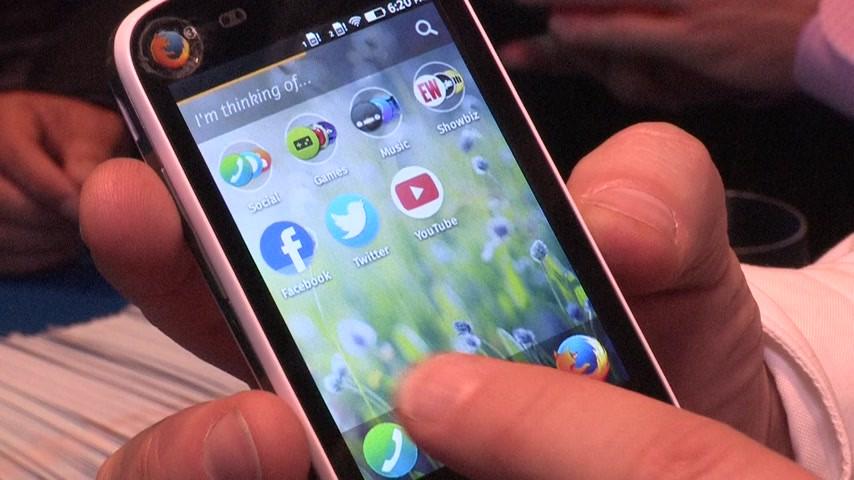 MWC 2014 : présentation vidéo du smartphone à 25 dollars de Mozilla