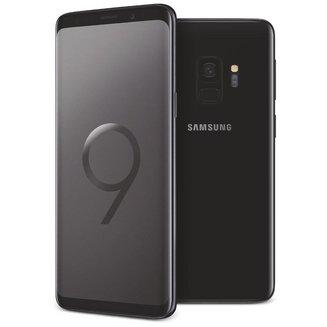 Galaxy S9 - Noir CarboneEdge avec flash 3G avec autofocus avec GPS avec écran tactile avec WiFi 3G+ 3G++ Android 64 Go 163 g 4G LTE Smartphone Double SIM 4G 4 Go Barre Tactile 5,8 pouces Bluetooth 5.0 avec APN 15 Mpixels MicroSD jusqu'à 256 Go HSDPA HSUPA Galaxy S9 4G+ Samsung Exynos 9810 Octo-core 2,9 GHz Noir Carbone