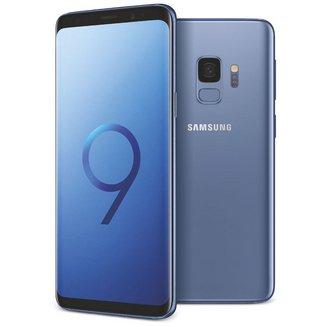 Galaxy S9 - Bleu CorailEdge avec flash 3G avec autofocus avec GPS avec écran tactile avec WiFi 3G+ 3G++ Android 64 Go 163 g 4G LTE Smartphone Double SIM 4G 4 Go Barre Tactile 5,8 pouces Bluetooth 5.0 avec APN 15 Mpixels MicroSD jusqu'à 256 Go HSDPA HSUPA Galaxy S9 4G+ Samsung Exynos 9810 Octo-core 2,9 GHz Bleu Corail