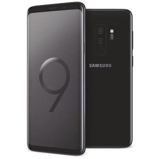 Galaxy S9+ - NoirEdge avec flash 3G avec autofocus avec GPS avec écran tactile avec WiFi 3G+ 3G++ Android 64 Go 4G 189 g Barre 6 Go Tactile Bluetooth 5.0 6,2 pouces avec APN 15 Mpixels MicroSD jusqu'à 256 Go HSDPA HSUPA 4G+ Samsung Exynos 9810 Octo-core 2,9 GHz Galaxy S9+ Noir
