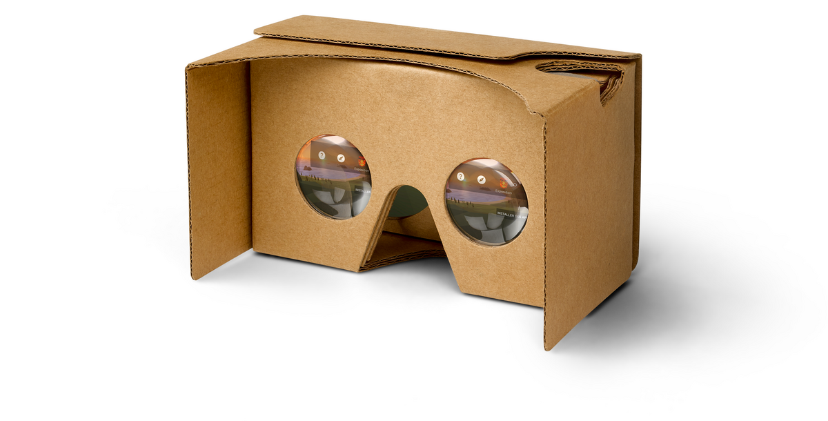 Packshot Google Cardboard