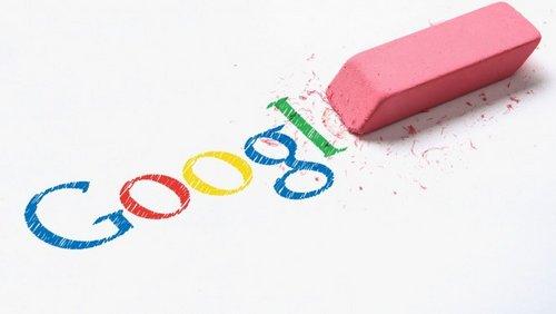 google droit à l