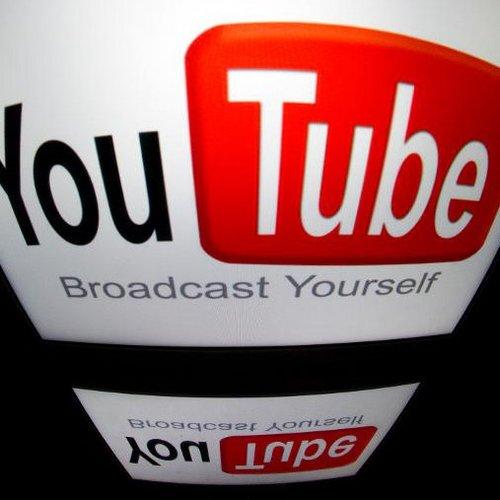 le logo youtube sur l