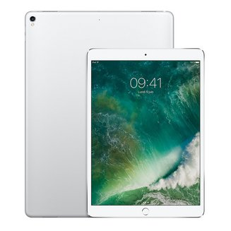 iPad Pro 10.5 pouces avec écran Rétina Argent - 512 Go Wi-Fi + 4G (MPMF2NF/A)Wifi 3G Tablette 4 Go iOS Écran Retina 2,30 GHz 9 Heure(s) 512Go 10,5 pouces iPad Pro Bluetooth 4.2 4G LTE IPS Hexa Core LED Tactile Apple iOS 10 2224 x 1668 pixels 477 g Apple A10X Fusion 64 bits Apple A10X Fusion