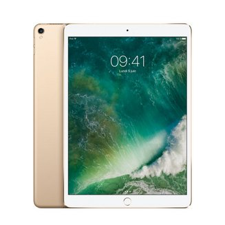 iPad Pro 10.5 pouces avec écran Rétina Or - 512 Go Wi-Fi (MPGK2NF/A)Wifi Tablette 4 Go 10 Heure(s) iOS Écran Retina 2,30 GHz 10,5 pouces iPad Pro Bluetooth 4.2 IPS Hexa Core LED Tactile Apple iOS 10 2224 x 1668 pixels Apple A10X Fusion 64 bits Apple A10X Fusion 469 g
